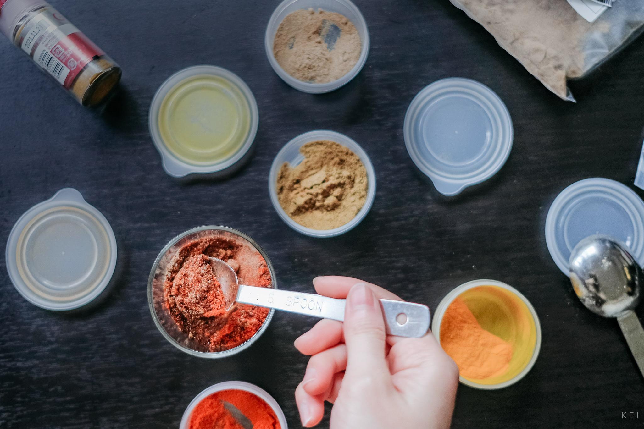 調配自己的咖哩粉