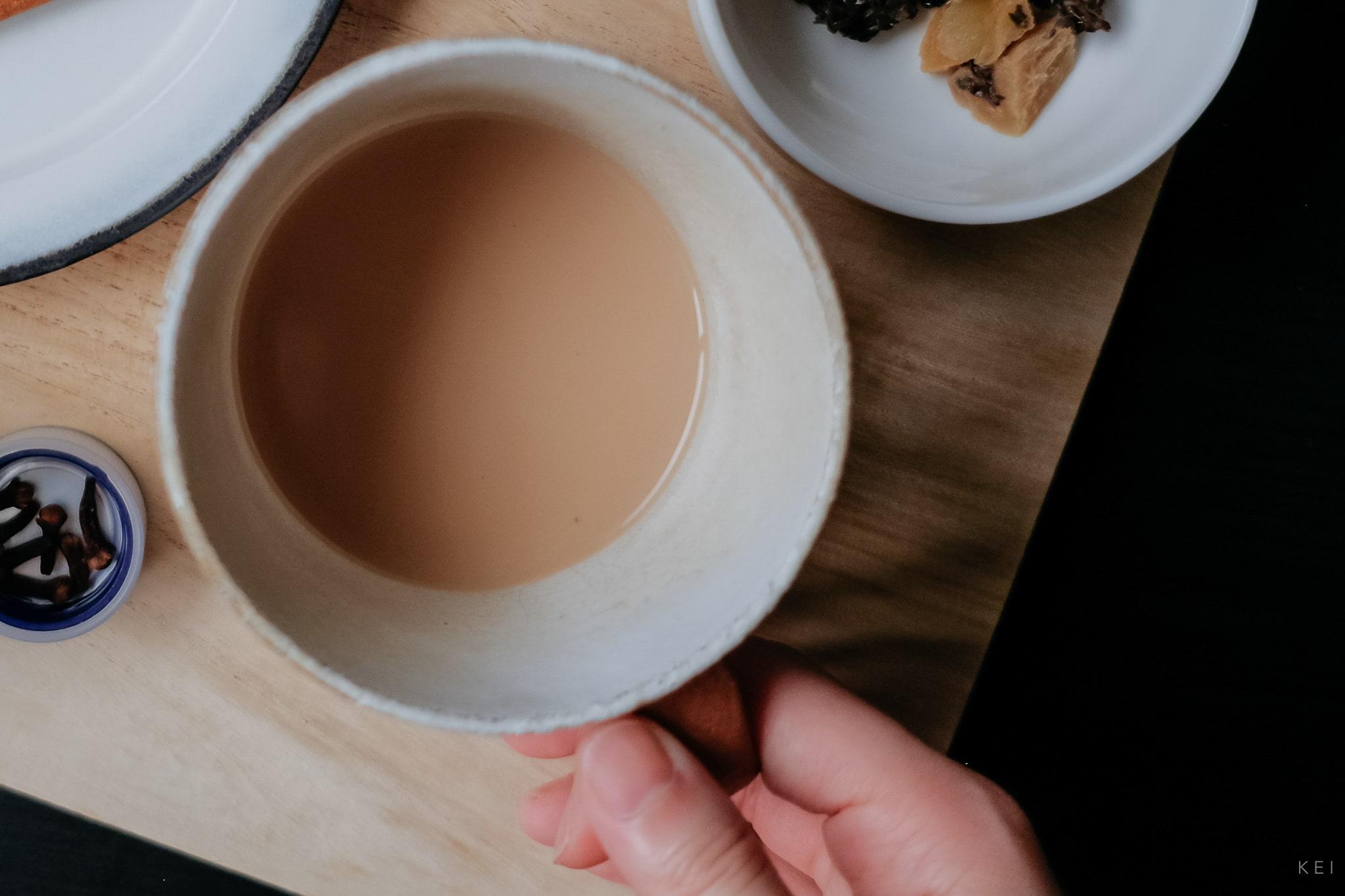 自製印度香料奶茶