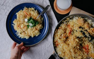 [食譜] 印度香飯 Biryani—咖哩粉專欄#5