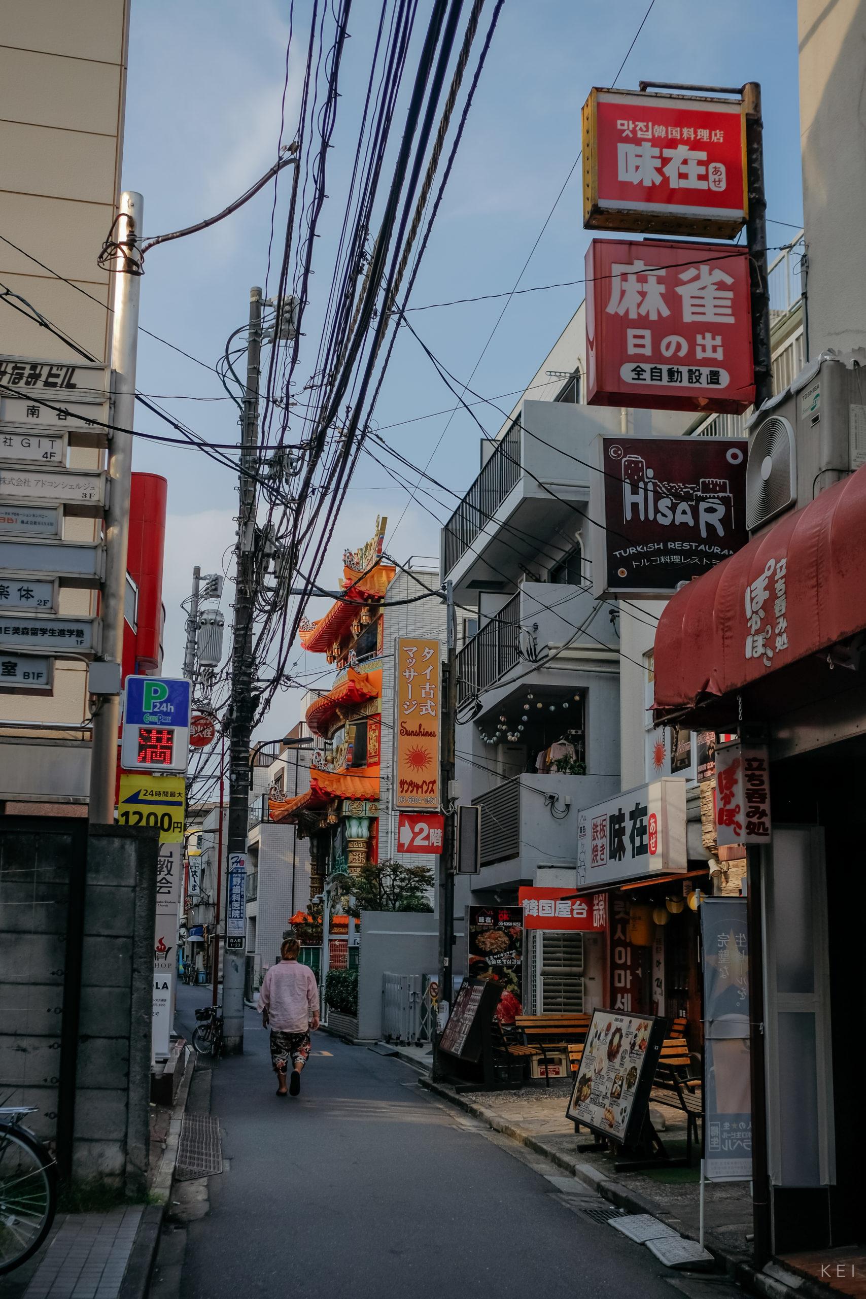 巷弄裡的東京馬祖廟