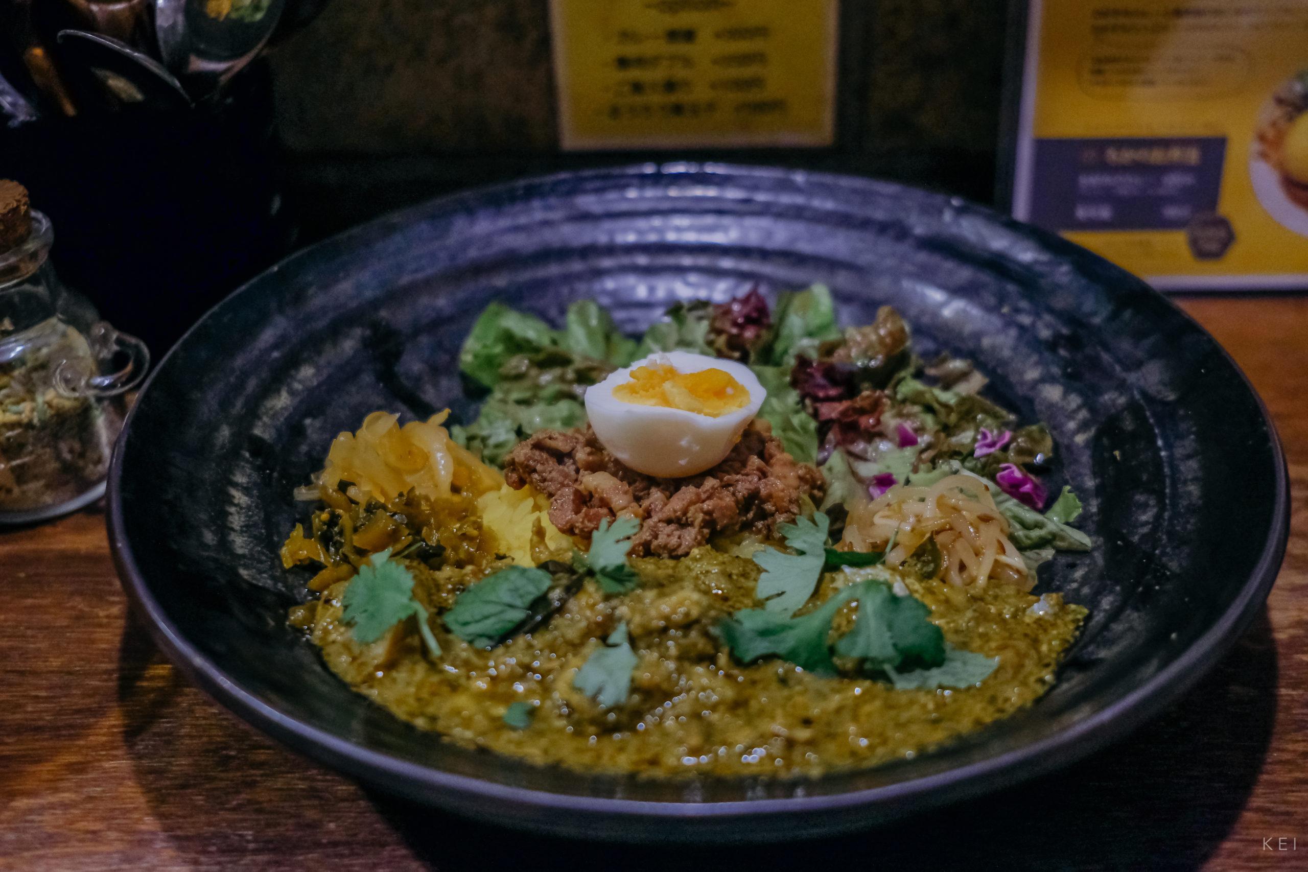 spicy curry 魯珈的咖哩+滷肉飯組合